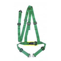 """Centură de siguranță 3 puncte 2"""" (50mm), verde"""