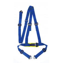 """Centură de siguranță 3 puncte 2"""" (50mm), albastru"""