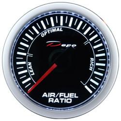 Ceas indicator raport aer-combustibil DEPO Racing - Seria Night glow