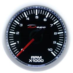 Ceas indicator RPM DEPO Racing - Seria Night glow
