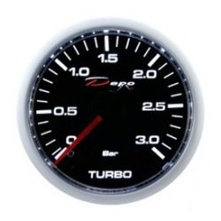 Ceas indicator presiune turbo DEPO Racing diesel - Seria Night glow