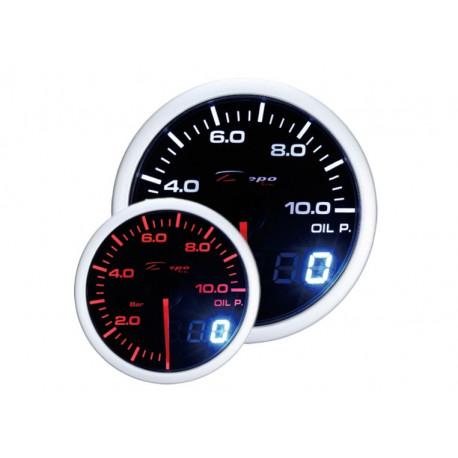 DEPO Dual View 52mm Ceas indicator presiune ulei DEPO Racing - Seria Dual view | race-shop.ro