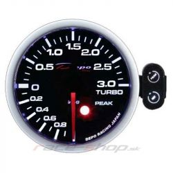 Ceas indicator programabil presiune turbo DEPO Racing electric -1 - 2 BARI