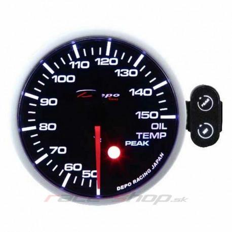 Ceasuri bord DEPO PK 52mm Ceas indicator programabil temperatură ulei DEPO Racing   race-shop.ro