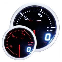Ceas indicator DEPO Racing nivel combustibil - Seria Dual view