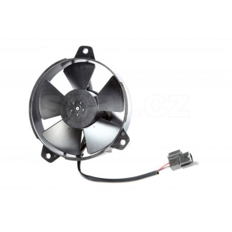 Ventilatoare 12V Ventilator electric universal SPAL 130mm - aspirare, 12V | race-shop.ro