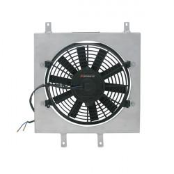 Sahara ventilátora pre závodný chladič MISHIMOTO - Sada - 92-00 Honda Civic, 93-97 Del Sol