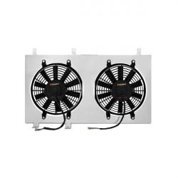 Sahara ventilátora pre závodný chladič MISHIMOTO - Sada - 02-06 Honda Integra