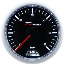 Ceas indicator presiune combustibil DEPO Racing - Seria Night glow