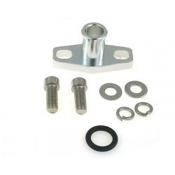 Flanșă adaptor retur ulei cu intrare de 16mm pentru GT25R, GT28R, GT30R, GT35R