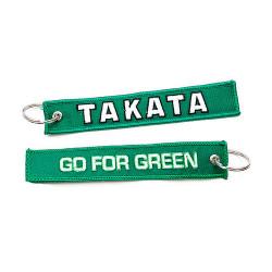 Breloc Takata go for green zelená