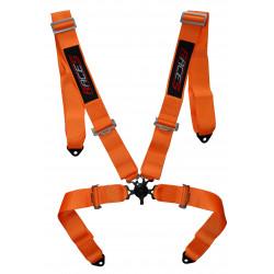 """Centură de siguranță 4 puncte RACES 3"""" (76mm), portocaliu"""