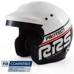 Cască RRS Protect JET FIA 8859-2015, Hans, negru