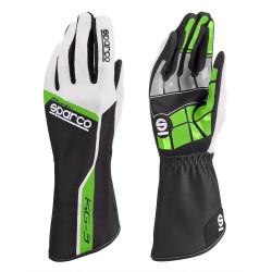 Mănuși Track KG-3 (cusătură interior) zeleno/alb