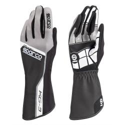 Mănuși Track KG-3 (cusătură interior) negru / griu
