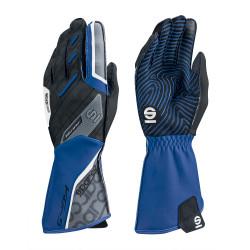 Mănuși Motion KG-5 (cusătură exterior) negru/albastru