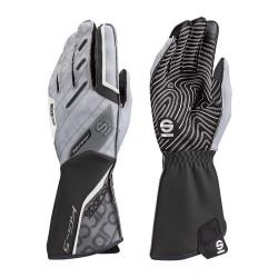 Mănuși Motion KG-5 (cusătură exterior) negru/alb