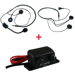 Set Sistem intercom Terratrip Clubman + 2x headset