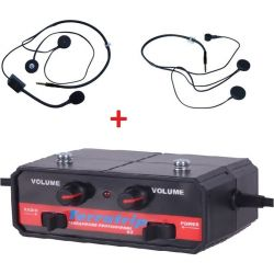 Set Sistem intercom Terratrip Professional + 2x headset