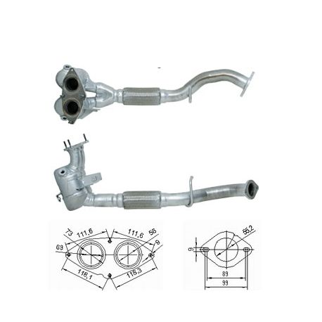 DPF, catalizator model sprecific Catalizator Magnaflow pentru ALFA ROMEO | race-shop.ro