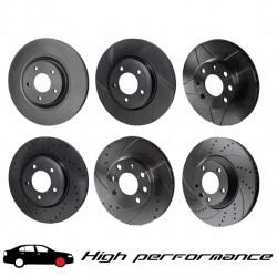 Disc frână față stâng Rotinger High Performance, 4598HP