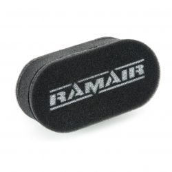 Dvojité športové penové filtre Ramair na karburátory Weber & Dellorto
