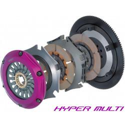 Set ambreiaj Exedy Racing Hyper Multi Twin Cerametallic, cu arc