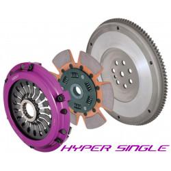 Set ambreiaj Exedy Racing Hyper Single Cerametallic, cu arc