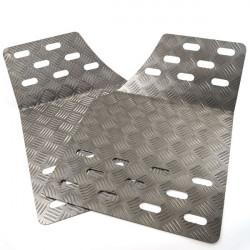 Suport picior din aluminiu 600 x 410mm (2 buc)