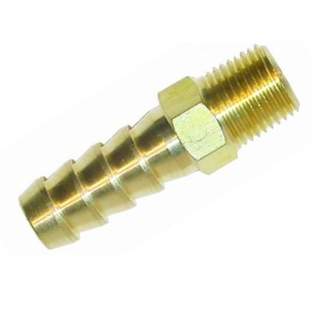 Ștuț furtun cu filet Ștuț cu filet 1/4 NPT pentru furtun de 12mm | race-shop.ro