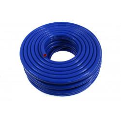 Furtun siliconic vacuum 18mm armat, albastru