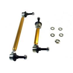 Whiteline Sway bar - link assembly 50mm lift heavy duty adj steel ball, predná náprava
