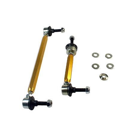 Whiteline Whiteline Sway bar - link assembly 50mm lift heavy duty adj steel ball, predná náprava | race-shop.ro