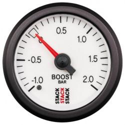 STACK gauge boost pressure 1- 2 bar (mechanical)