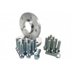 Set 2buc distanțiere pentru Skoda - 17mm (Prezon lung), 5x112, 57,1mm