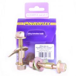 Powerflex Set șuruburi reglare înclinare (14mm) Renault 21 inc Turbo (1986-1994)