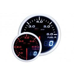 Ceas indicator presiune combustibil DEPO Racing - Seria Dual view