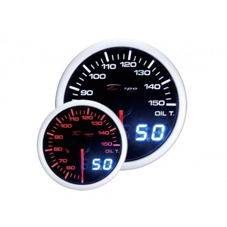 DEPO Dual View 52mm Ceas indicator temperatură ulei DEPO Racing - Seria Dual view   race-shop.ro