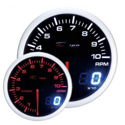 Ceas indicator RPM DEPO Racing - Seria Dual view