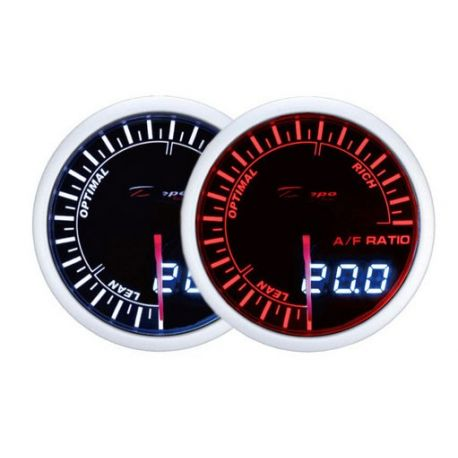 DEPO Dual View 52mm Ceas indicator raport aer-combustibil DEPO Racing - Seria Dual view | race-shop.ro