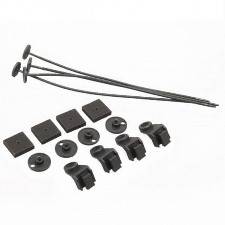 Accesorii de instalație Set montaj ventilator cu suport din plastic | race-shop.ro