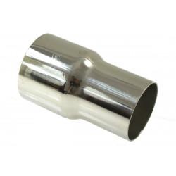 Reducție din inox tobă 70-76 mm