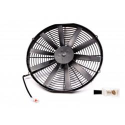 Ventilator electric universal SPAL 385mm - aspirare, 12V
