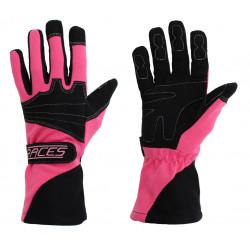 Mănuși RACES Classic EVO roz