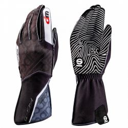Mănuși Motion KG-5 WP (cusătură exterior) negru/alb
