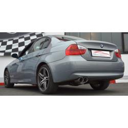 70mm Tobă de eșapament sport BMW E90/E91 - Cu certificat ECE (861361-X)