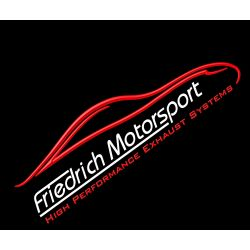 70mm Tobă de eșapament sport BMW 1er F20/F21 - Cu certificat ECE (861351LT-X)