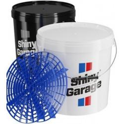 Shiny Garage Bucket 20 l - găleată cu separator