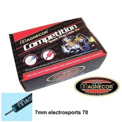 Cabluri bujii Magnecor 7mm sport pentru ALFA ROMEO 146 T/spark 1.4i / 2.0i 16v