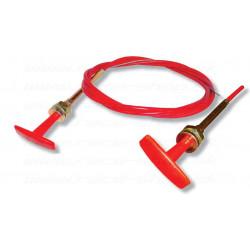 Cablu comutator autobaterie sau extinctor 1,8m, teflon